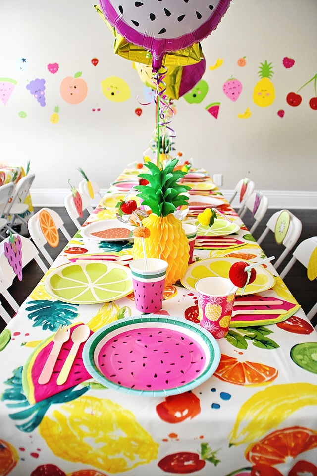 Tutti Frutti Themed Birthday Party Ideas