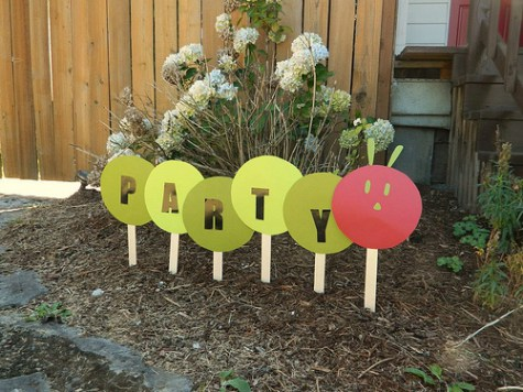 Very Hungry Caterpillar Party Sign | Very Hungry Caterpillar Party Ideas