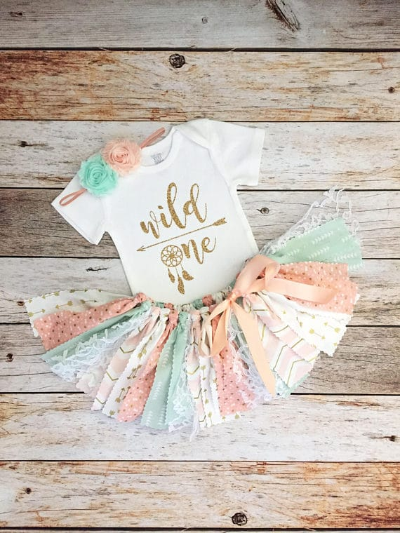 Wild One Boho Birthday Outfit - Boho Chic Party Ideas