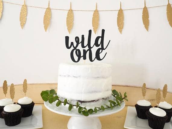 Wild One Cake Topper   Wild One Birthday Ideas