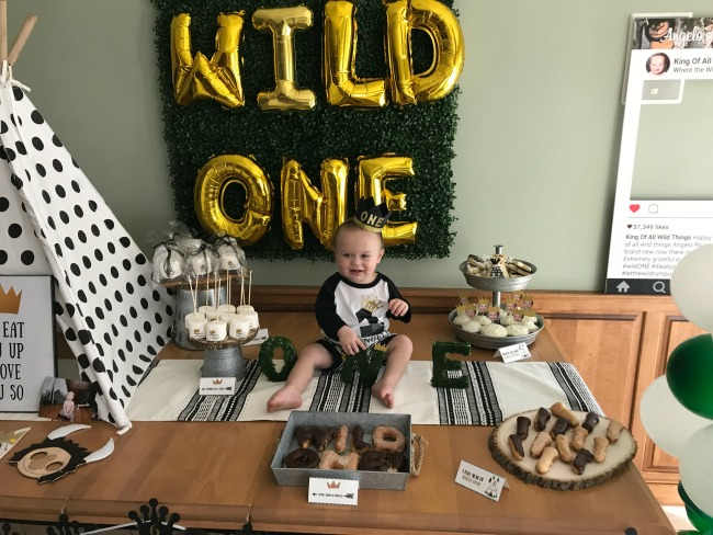Wild One First Birthday Party featured on Pretty My Party