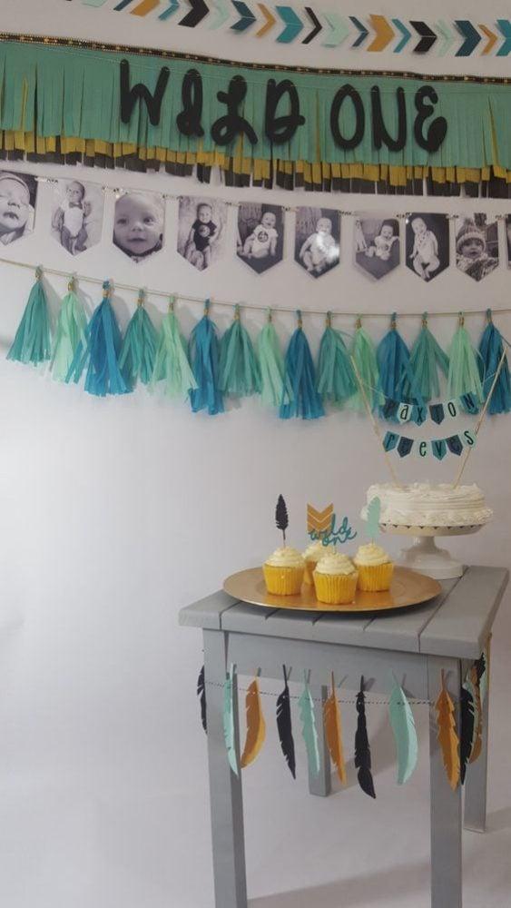 Wild One Birthday Banner - Wild One Birthday Party