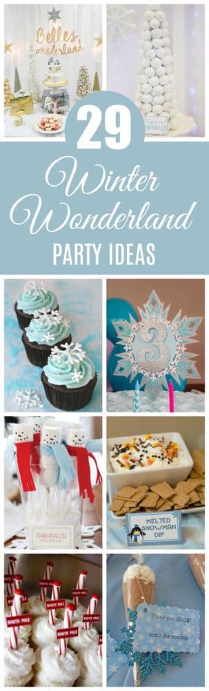 29 Winter Wonderland Birthday Party Ideas on Pretty My Party