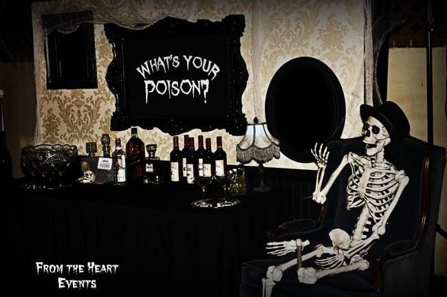 Spooky Halloween Themed 30th Birthday Party