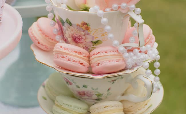 Mint and Pink Vintage Tea Party