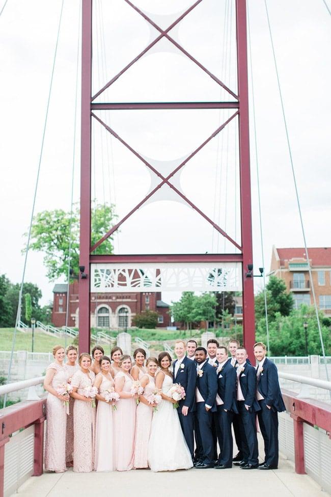 Elegant Summer Indiana Wedding on Pretty My Party