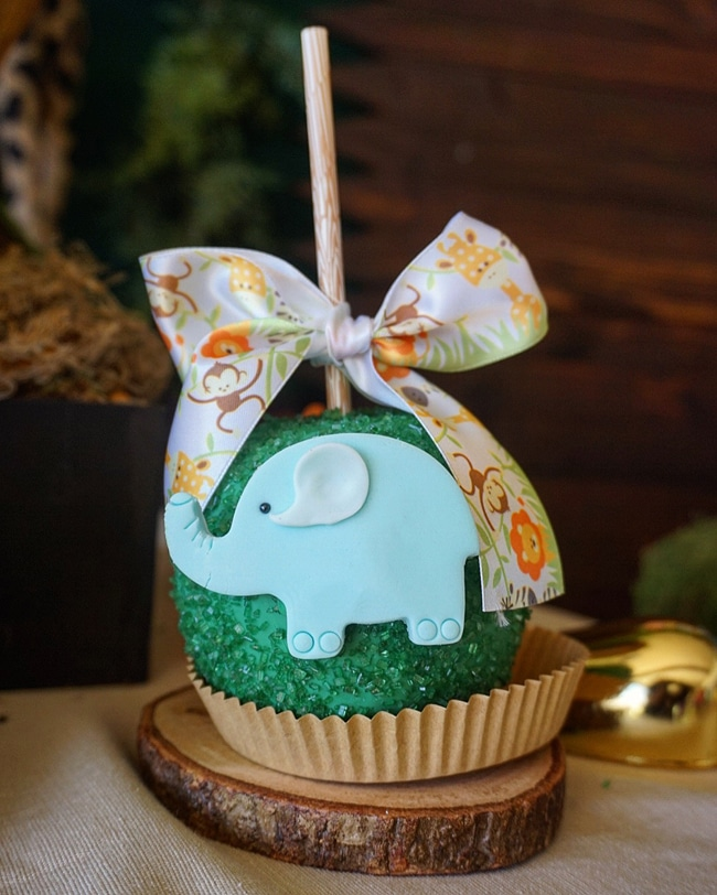 Animal Safari Themed Baby Shower Desserts