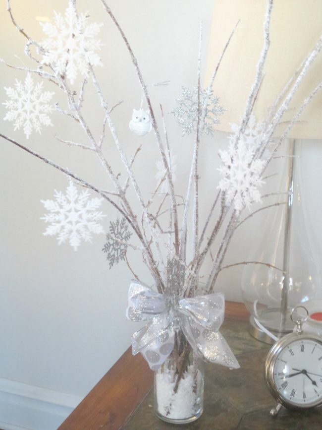 Winter Wonderland Christmas Table Decorations