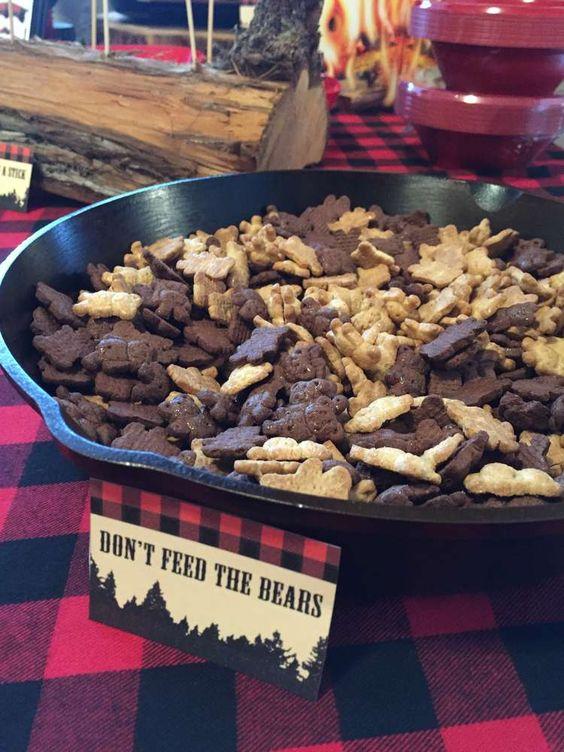 Don't Feed the Bears | Lumberjack Party Ideas