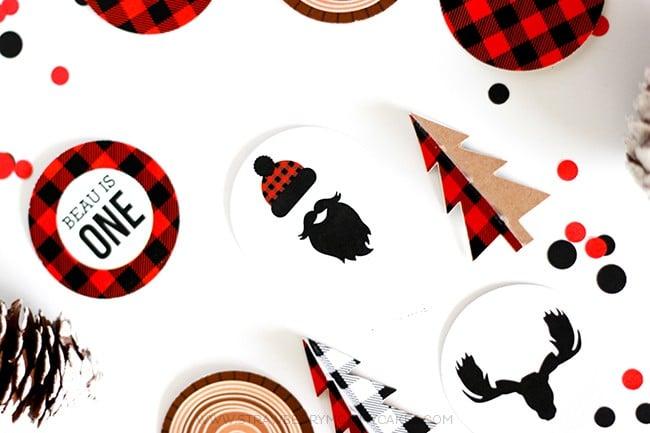 Free Lumberjack Party Printables | Lumberjack Party Ideas