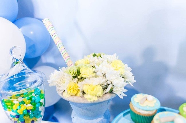 Ice Cream Party Flower Sundae Decoration