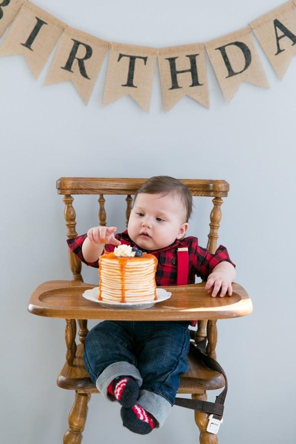 Lumberjack 1st Birthday Party | Lumberjack Party Ideas