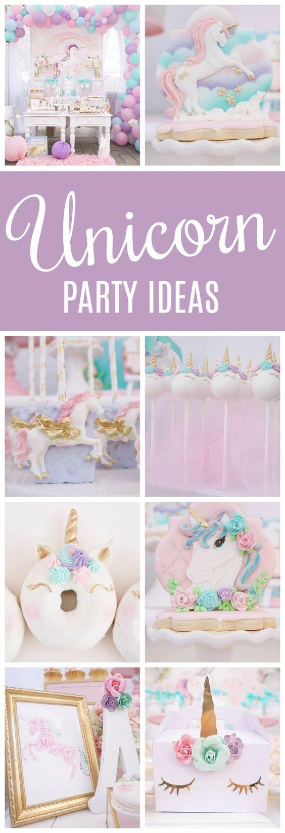 Pretty Pastel Unicorn Birthday Party - Pretty My Party