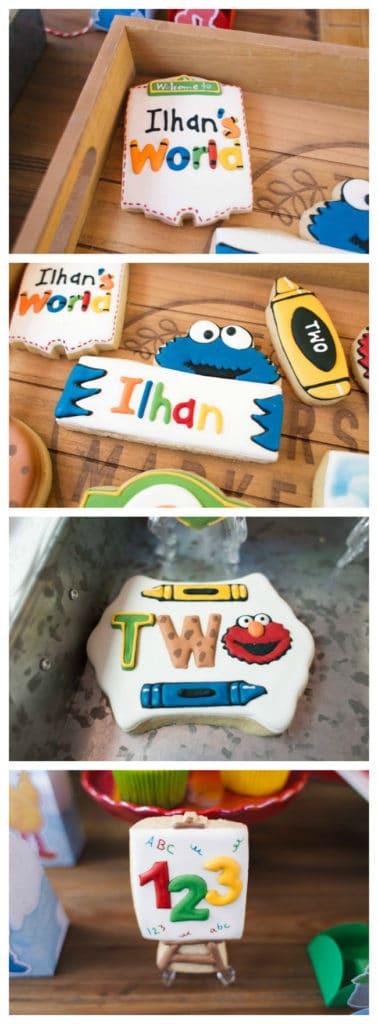 Sesame Street Party Cookies