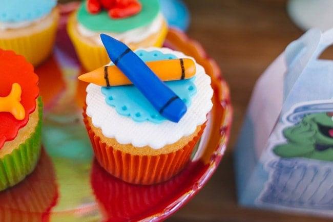 Sesame Street Party Cupcakes