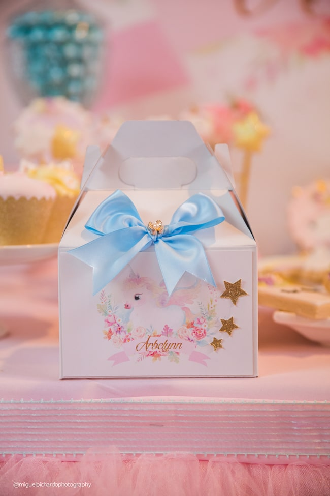Baby Unicorn Themed First Birthday Party - Pretty My Party