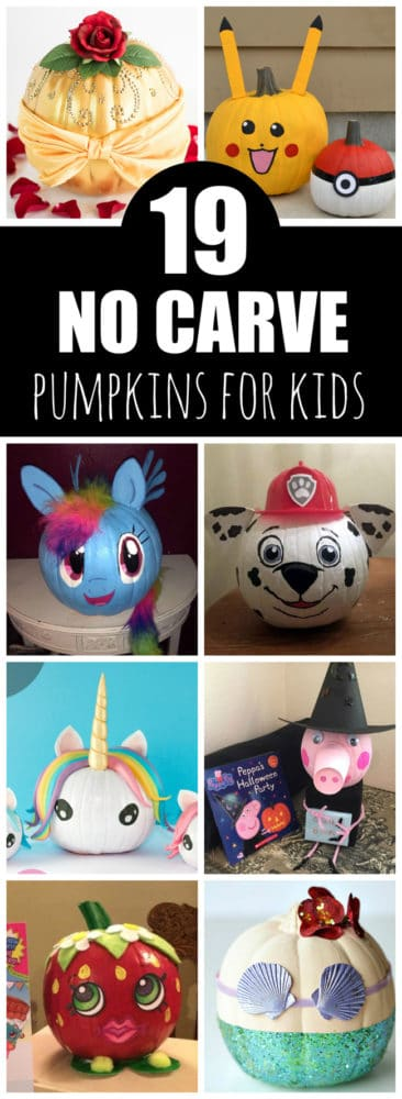 19 Painted Pumpkins For Kids - Pretty My Party