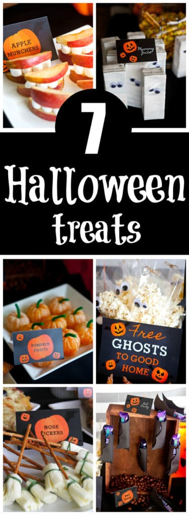 7 Creative and Healthy Halloween Food Ideas - Healthy Halloween Snacks - Pretty My Party