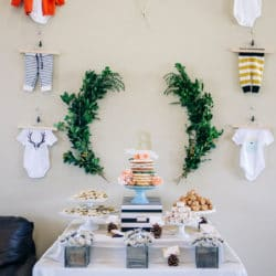 Modern Woodland Themed Baby Shower