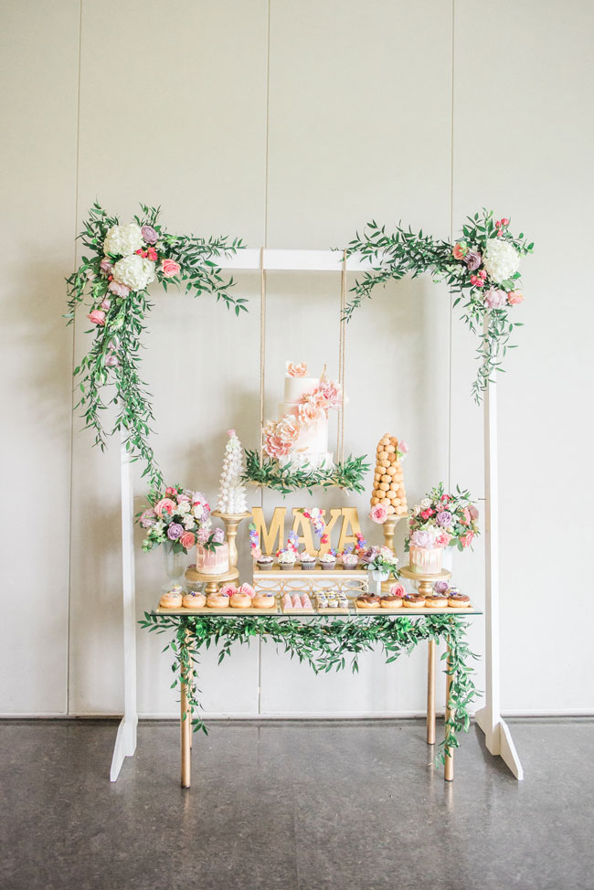 Gorgeous Garden Themed 1st Birthday Party Pretty My Party