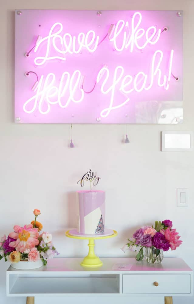 Fabulous Lisa Frank Inspired Rainbow Birthday Party on Pretty My Party