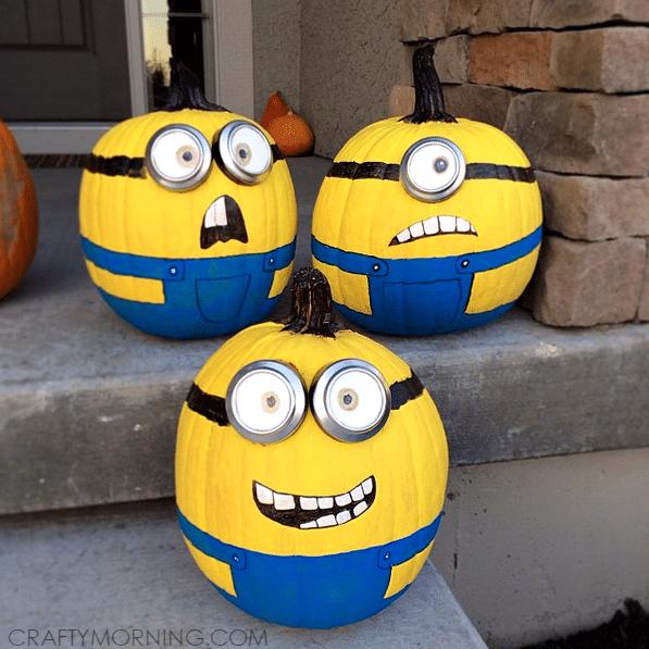 Minion Pumpkin Painting Ideas
