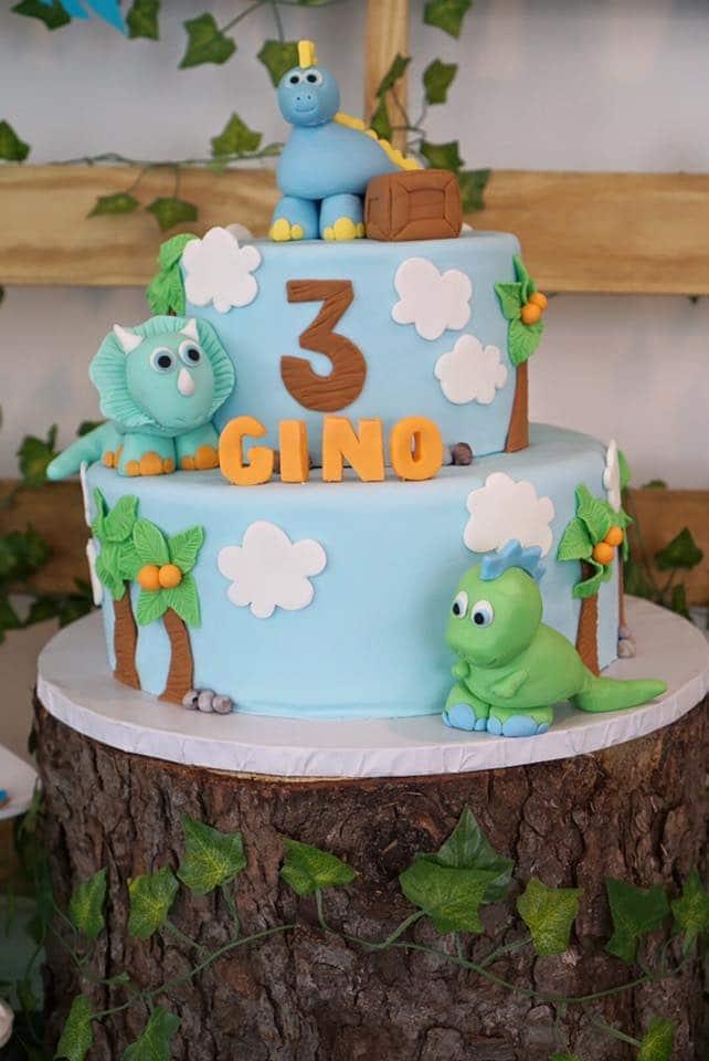 Totally Roarsome Dinosaur Inspired Birthday Party