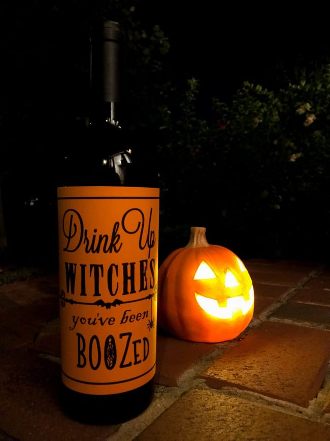 Drink Up Witches Boozed Free Printable