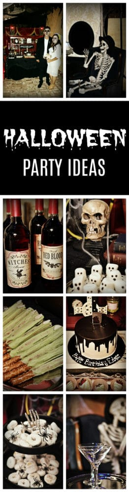 Spooky Halloween Themed 30th Birthday Party on Pretty My Party