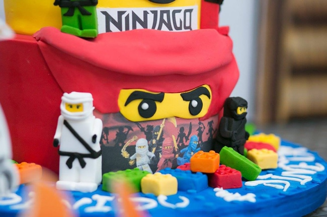 Awesome Ninjago Themed Birthday Party