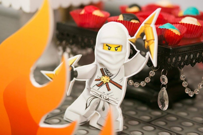 Awesome Ninjago Themed Birthday Party