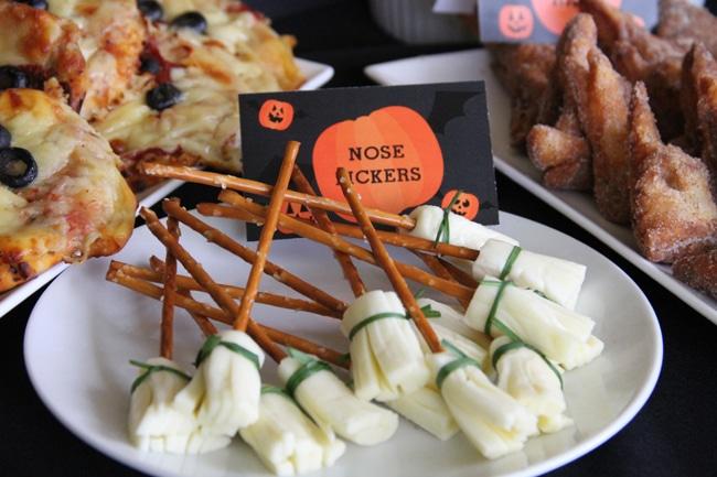 Nose Pickers - Healthy Halloween Snacks