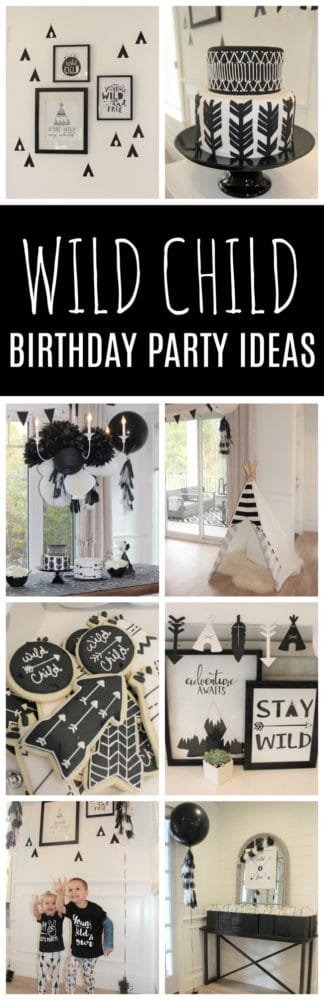 Wild Child Themed Birthday Party Pretty My Party