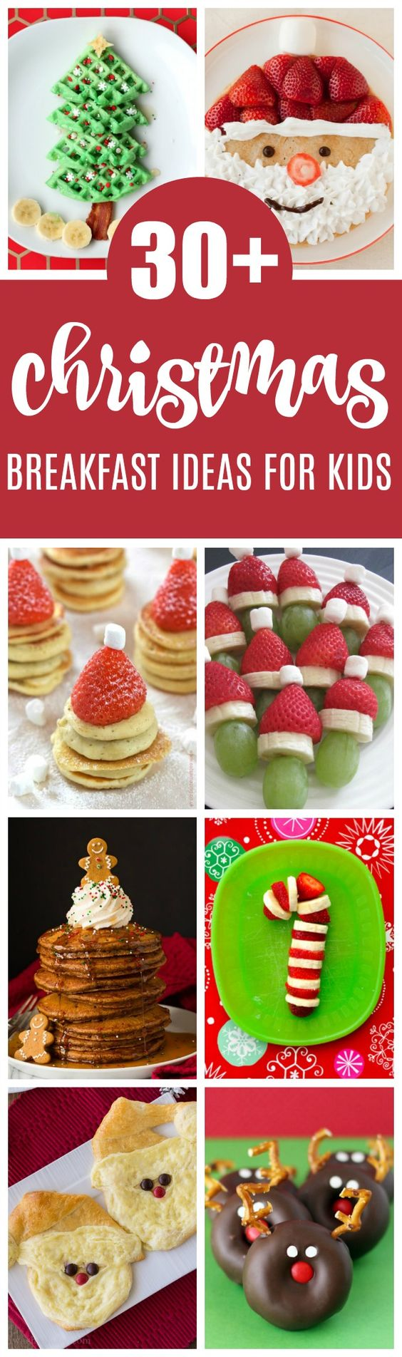 30+ Santa Breakfast Ideas Kids Will Love