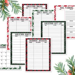 Free Printable Holiday Planner Pack
