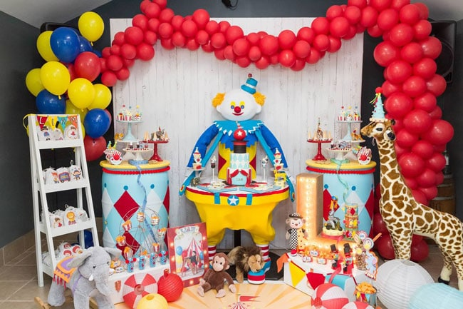 Sweet Circus Birthday Party
