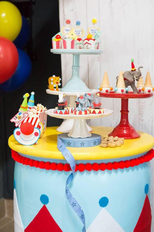 Circus Themed Birthday Party Ideas