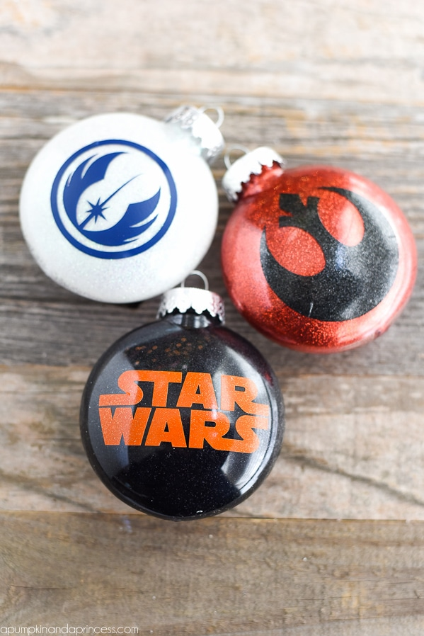 DIY Star Wars Ornaments - Kids Christmas Ornaments