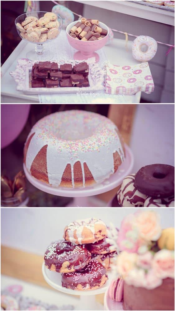 Vintage Donut Birthday Party Desserts