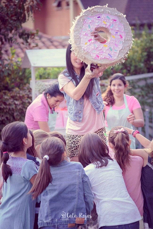 Vintage Donut Birthday Party Piñata