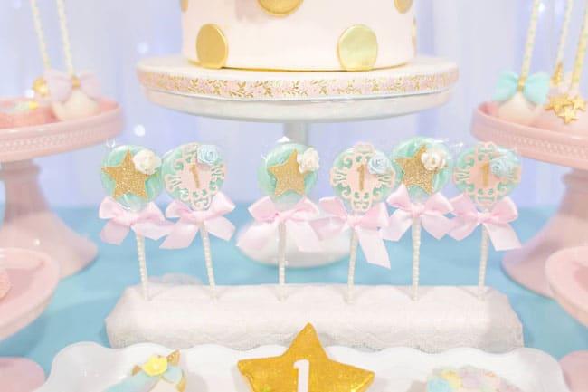 Unicorn Party Lollipops