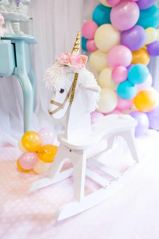 Unicorn Baby Rocker Toy