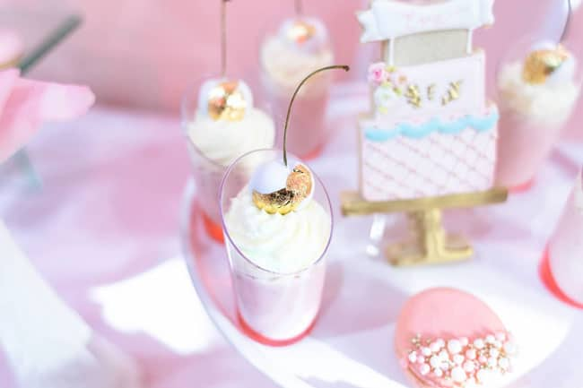 Pink and Gold Princess Birthday Party