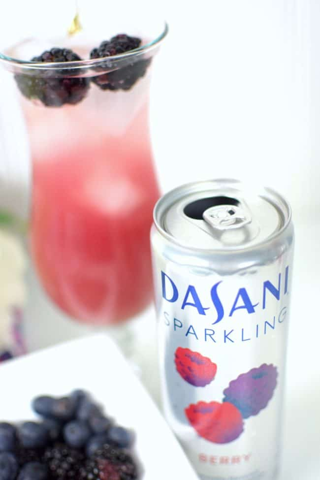 Berrylicious Mocktail- 3 Party Perfect Dasani Sparkling Drink Recipes