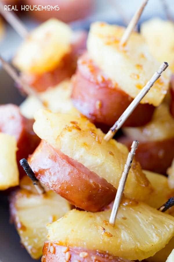 Glazed Kielbasa Bites Appetizer
