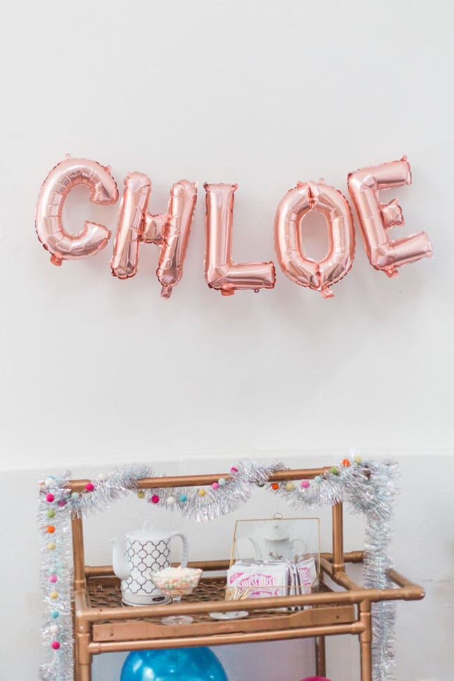 Boho Inspired Winter Wonderland Party