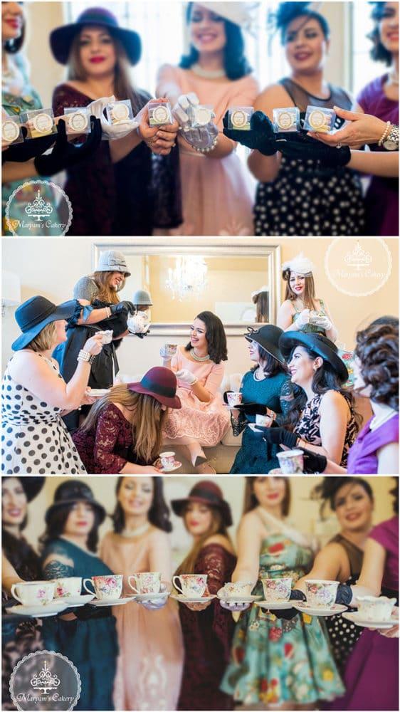 Parisian Tea Party 30th Birthday Party Favors