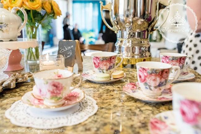 Parisian tea party decorations