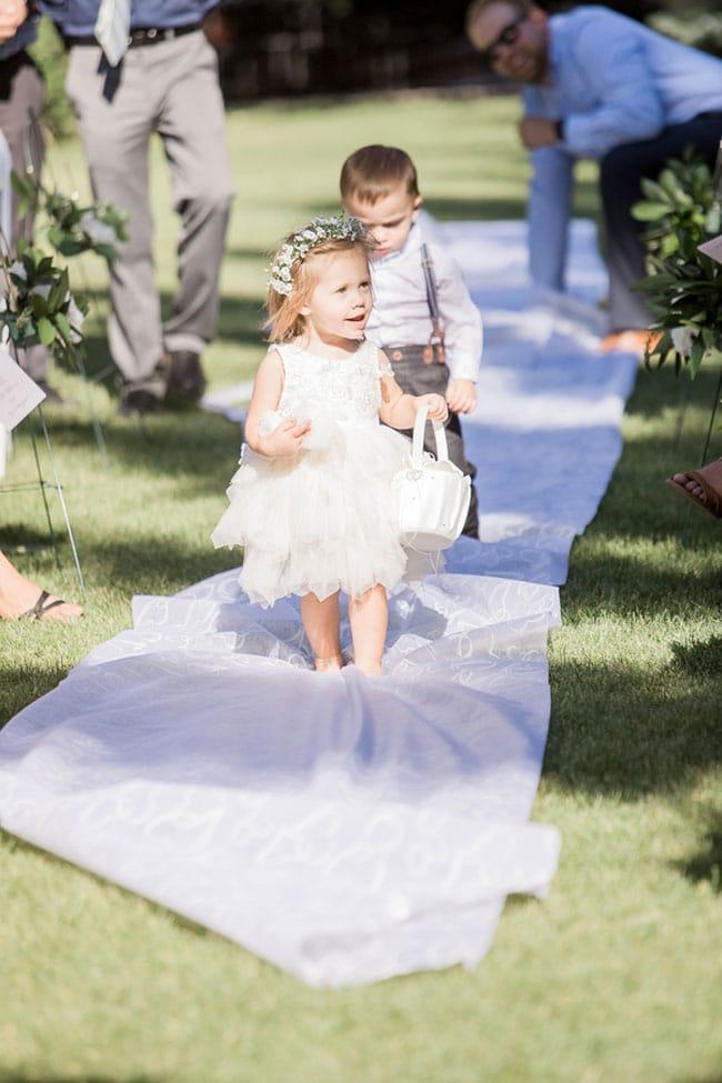 Summer Mansion Garden Wedding
