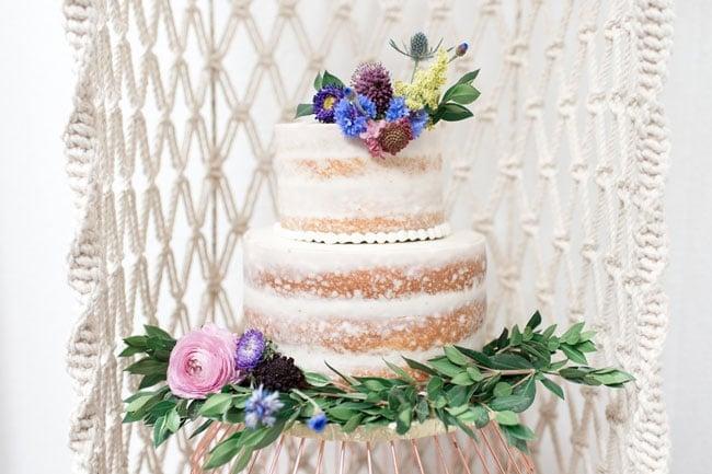 Boho Sweet 16 Cake